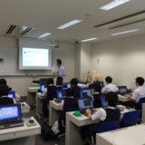情報コース-専門学校との連携授業開始