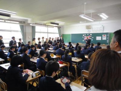 第56回入学式の様子