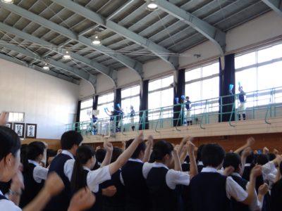 第3回北九州市立高校vs福岡県立北九州高校の野球部の親善試合