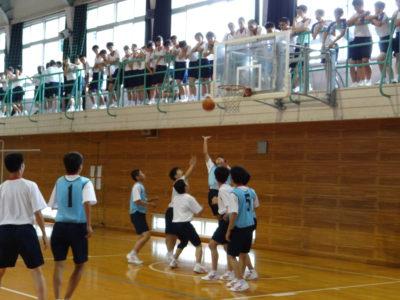 クラスマッチ2(バスケ)