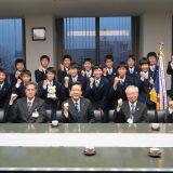 本校陸上部が北九州市長を表敬訪問しました