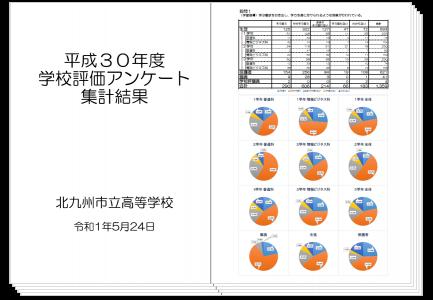 平成30年度 学校評価アンケート