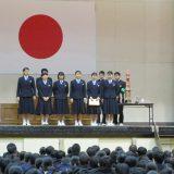 三学期始業式・部活動表彰を行いました