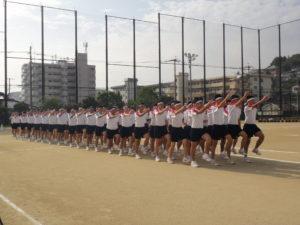 体育祭予行練習2