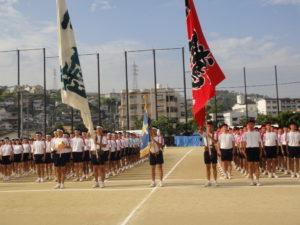 体育祭予行練習1